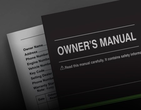 owners manual book