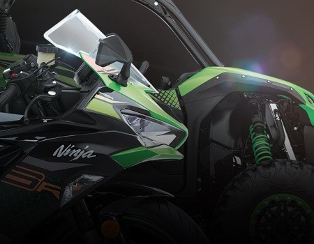 ninja and teryx vehicle front ends