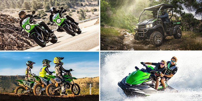 kawasaki vehicle action image grid