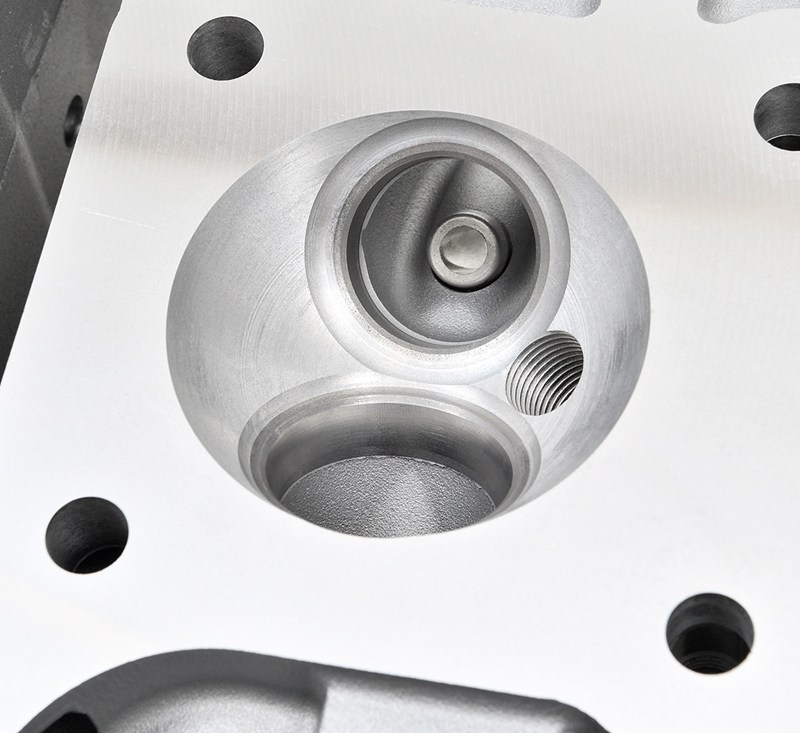 Reproduction Z1 Cylinder Head, Silver detail photo 8