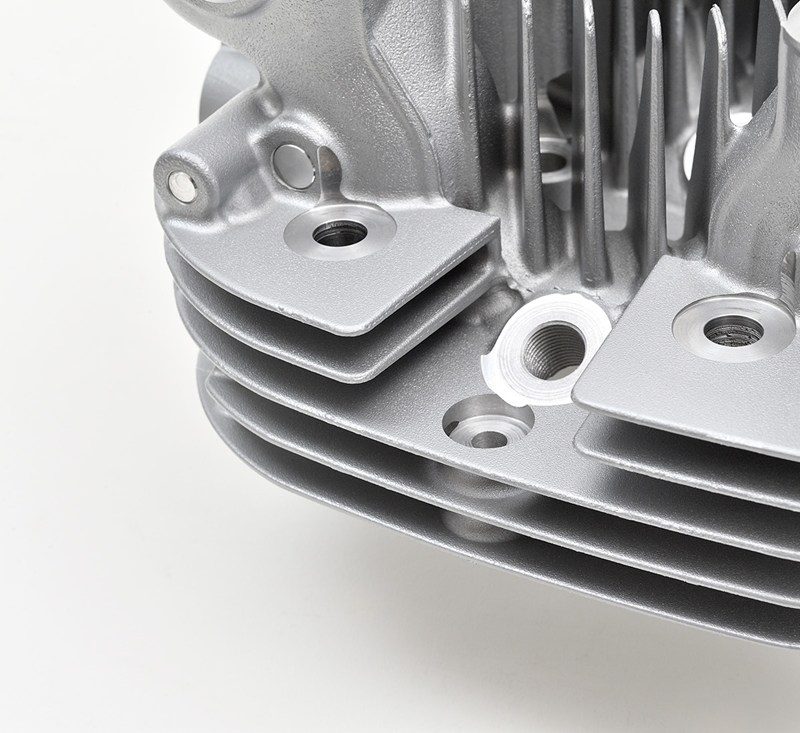 Reproduction Z1 Cylinder Head, Silver detail photo 10