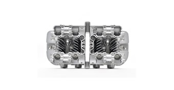 Reproduction Z1 Cylinder Head, Silver