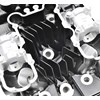 Reproduction Z1 Cylinder Head, Black photo thumbnail 7
