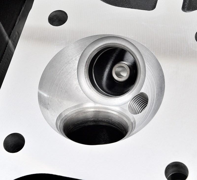Reproduction Z1 Cylinder Head, Black detail photo 8