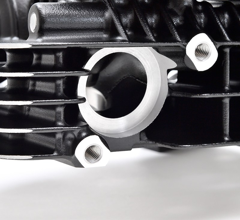 Reproduction Z1 Cylinder Head, Black detail photo 9