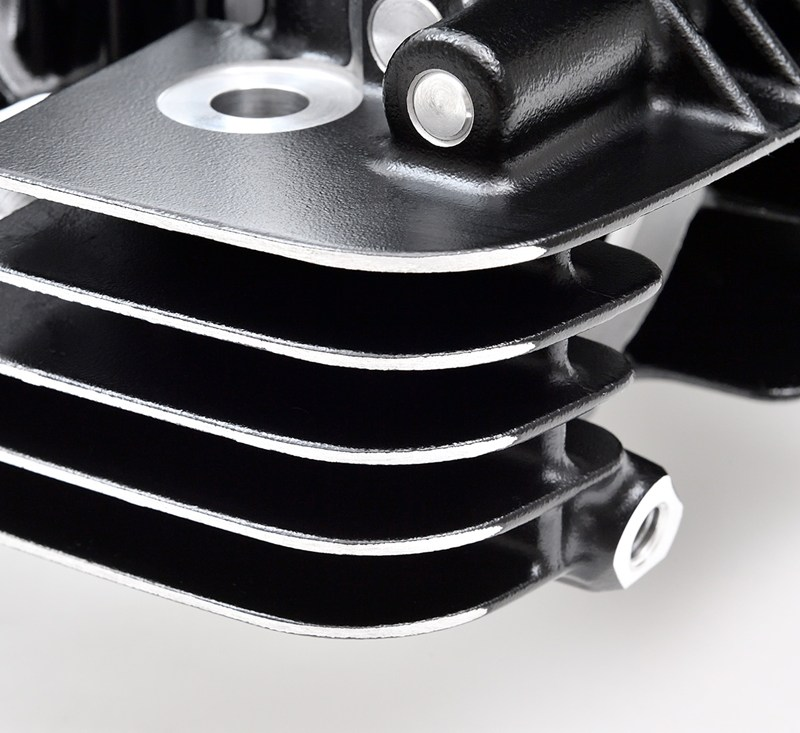 Reproduction Z1 Cylinder Head, Black detail photo 12