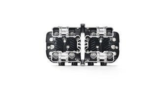 Reproduction Z1 Cylinder Head, Black