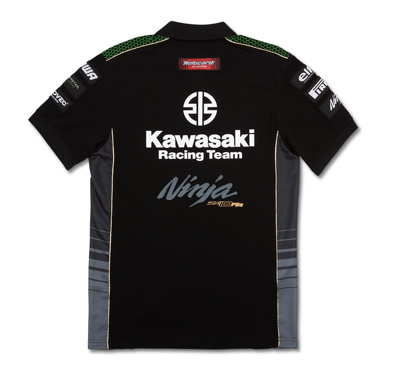 World Super Bike Monster Energy Replica Polo detail photo 2