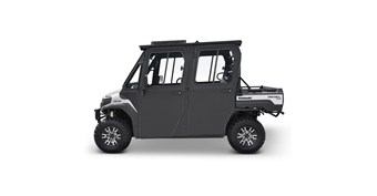 Hard Cab Enclosure by Curtis® with Roof Top A/C, MULE PRO-DXT™ Power Kit, and AS1 Windshield