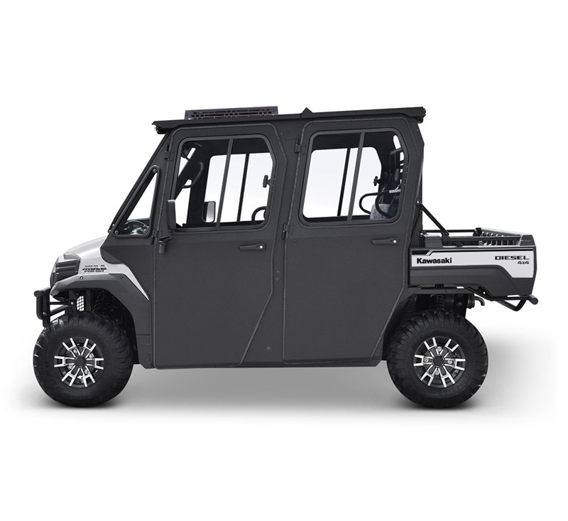 Hard Cab Enclosure by Curtis® with Roof Top A/C, MULE PRO-DXT™ Power Kit, and AS1 Windshield detail photo 1