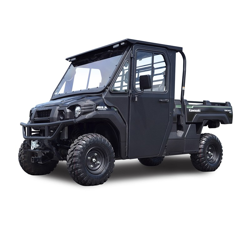 Hard Cab Enclosure with Polycarbonate Windshield by Curtis® Cabs detail photo 1