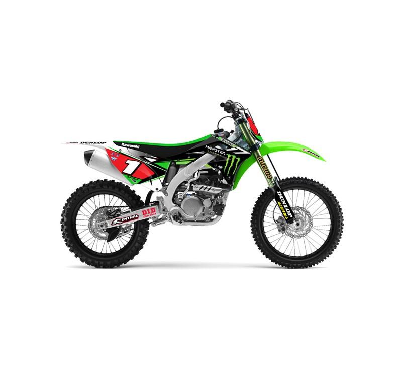 Graphic Kit - 2014 Team Monster Energy® Kawasaki detail photo 1