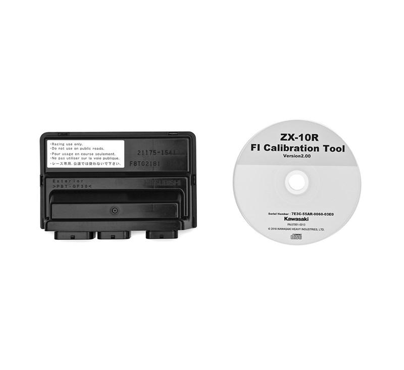 Adjustable ECU with CD detail photo 1