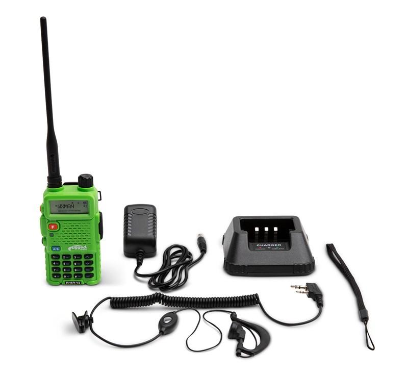 RH5R Rugged Radios 5-Watt Dual Band (VHF/UHF) Handheld Radio detail photo 1