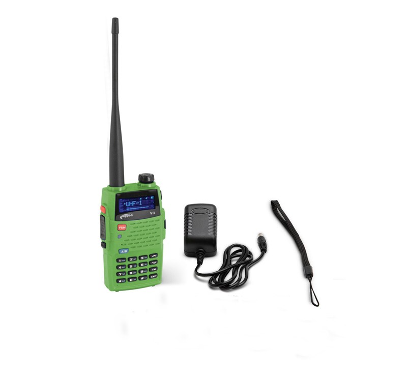 Rugged Radios - Rugged Radios 5-Watt Dual Band (VHF/UHF) Handheld Radio detail photo 1
