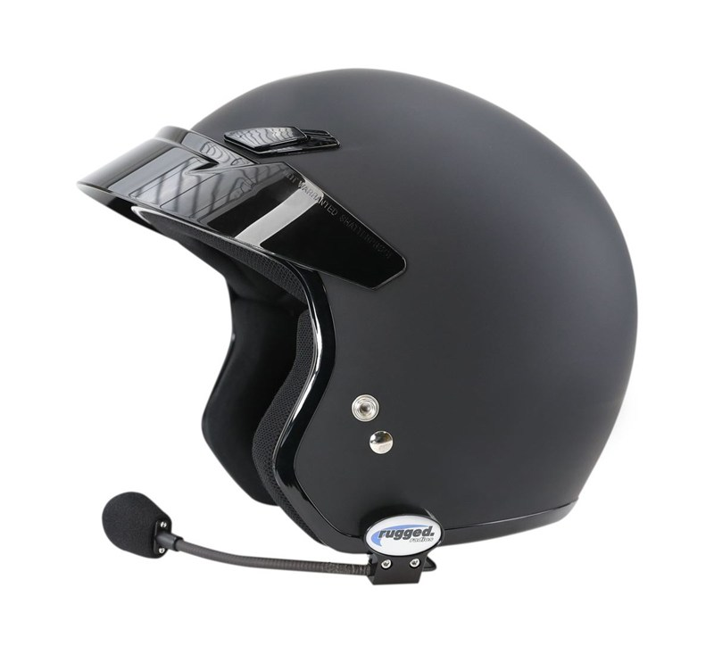 Quick Mount for Helmet Kit (Speakers and Mic) detail photo 2