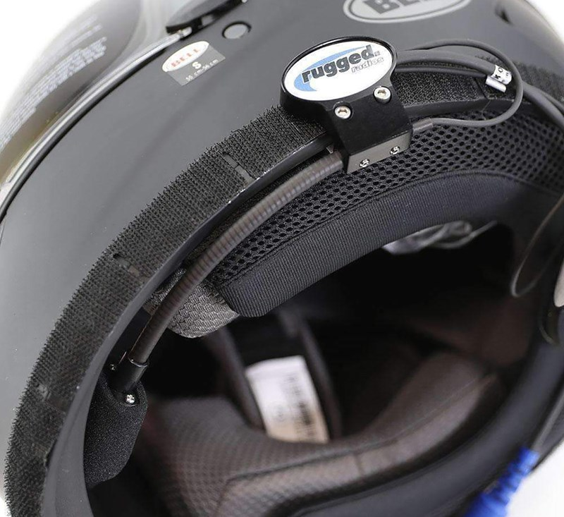 Quick Mount for Helmet Kit (Speakers and Mic) detail photo 3