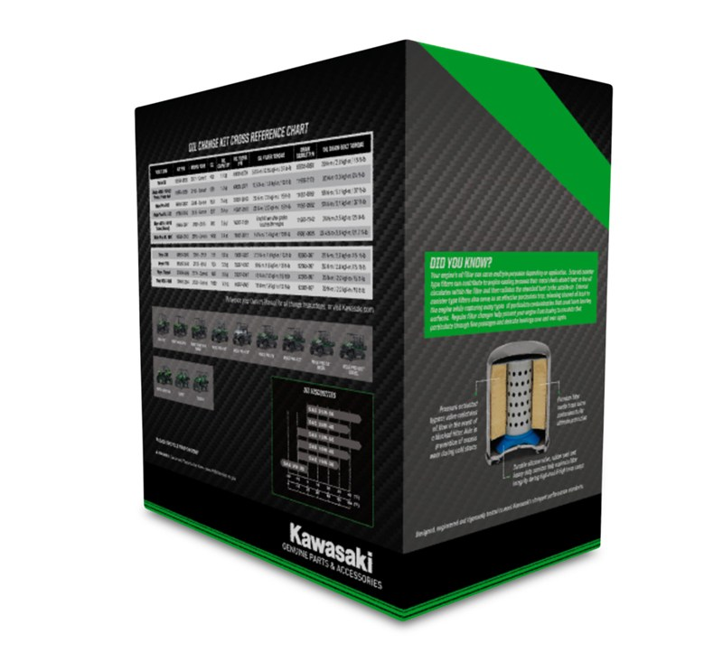 Oil Change Kit: MULE™ 4010 / 4010 Trans4x4® Diesel detail photo 3