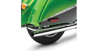 Saddlebag Side Trim Set