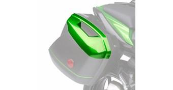 KQR™ 28 Liter Hard Saddlebag Set, Color Panel Set, Candy Line Green/17P