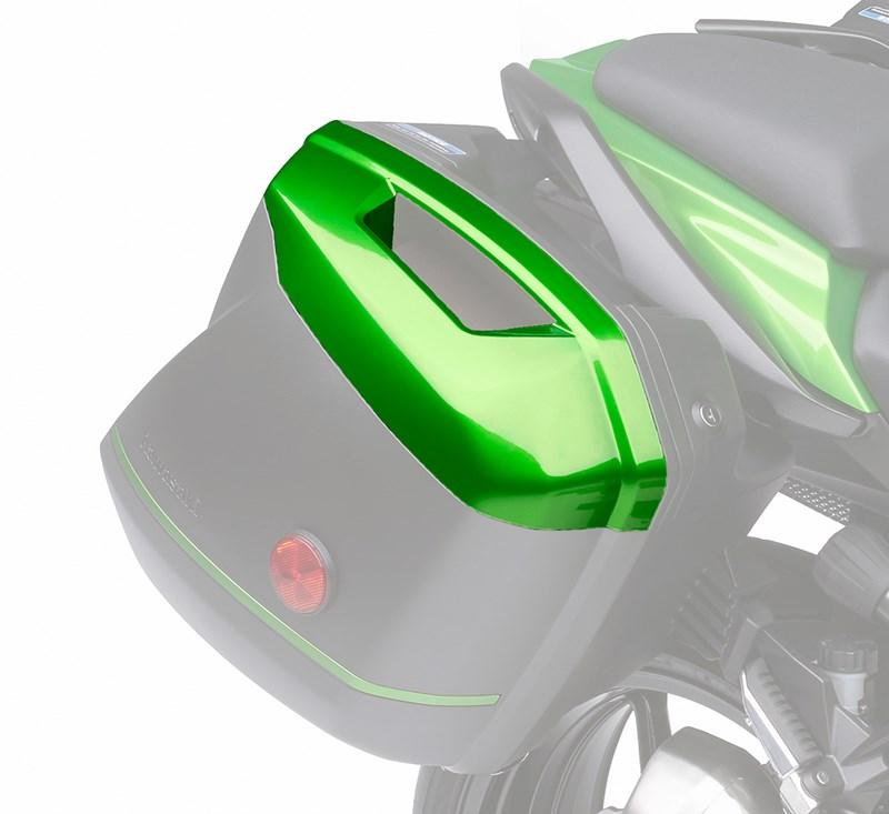 KQR™ 28 Liter Hard Saddlebag Set, Color Panel Set, Candy Line Green/17P detail photo 1