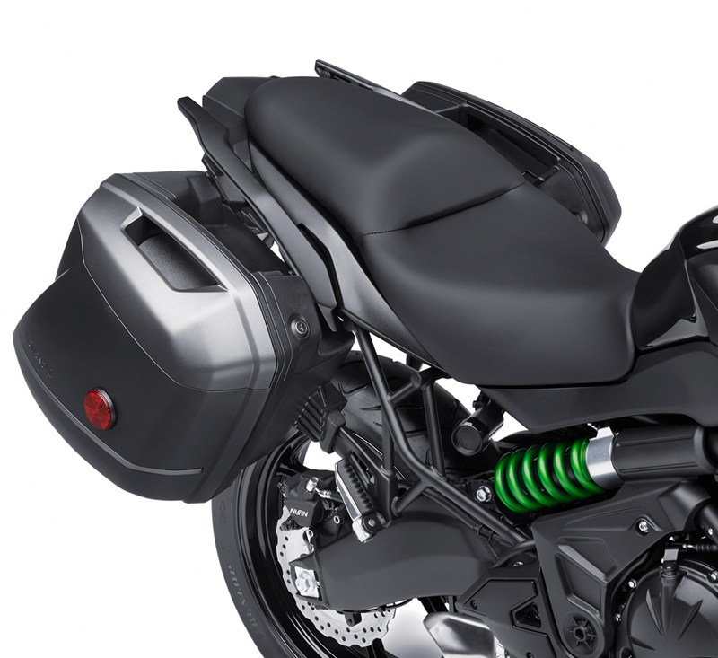 KQR™ 28 Liter Hard Saddlebag Set, Color Panel Set, Metallic Carbon Gray/51A detail photo 1