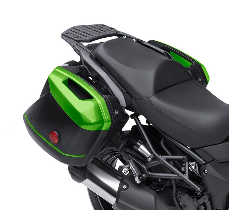KQR™ 28 Liter Hard Saddlebag Set, Color Panel Set, Candy Lime Green/51P detail photo 1
