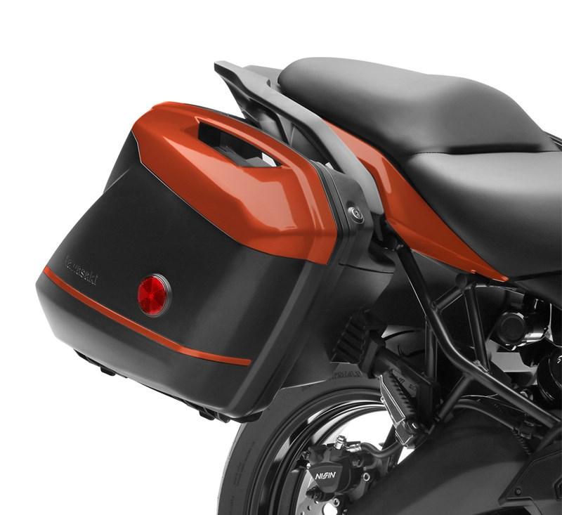 KQR™ 28 Liter Hard Saddlebag Set, Color Panel Set, Candy Matte Orange/53P detail photo 1