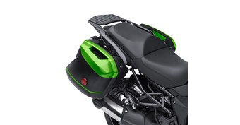 KQR™ 28 Liter Hard Saddlebag Set, Trim Set, Candy Lime Green/51PA
