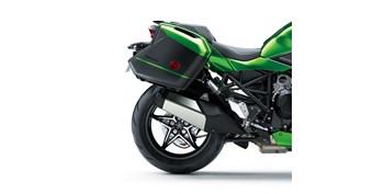 KQR™ 28 Liter Hard Saddlebag Set, Trim Set, Emerald Blaze Green/60R