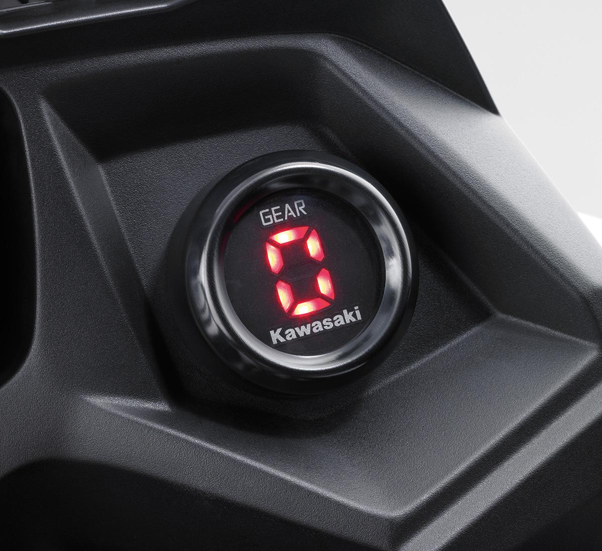 Kawasaki Versys Gear Indicator