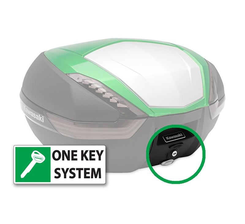 KQR™ 47 Liter Top Case, One Key System, Type A detail photo 1