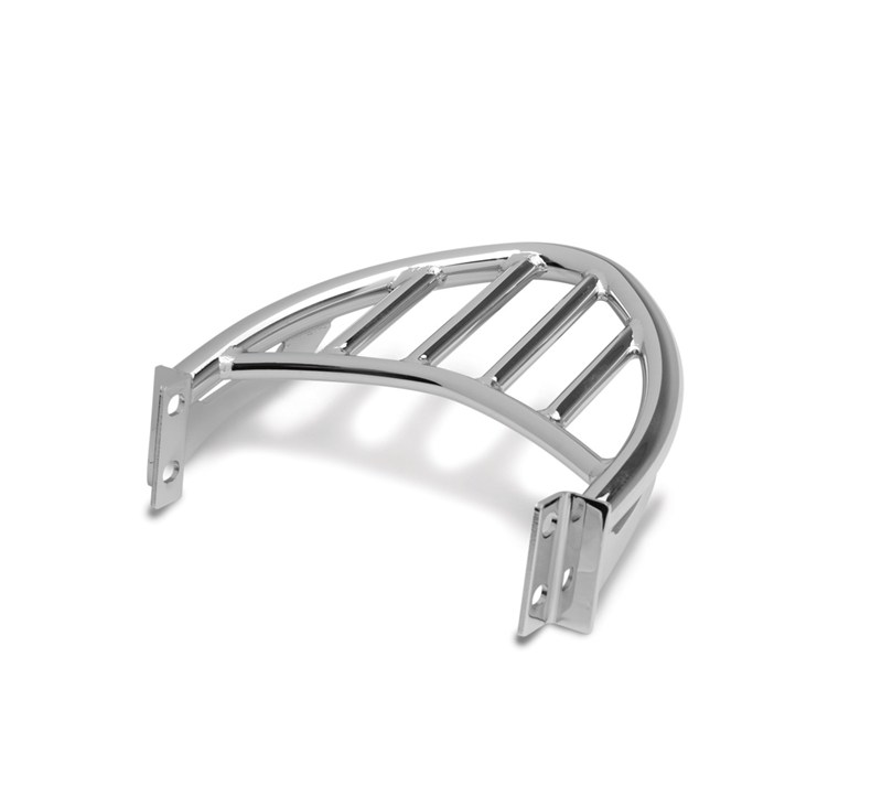 Luggage Rack for KQR™ Passenger Backrest, Chrome detail photo 1