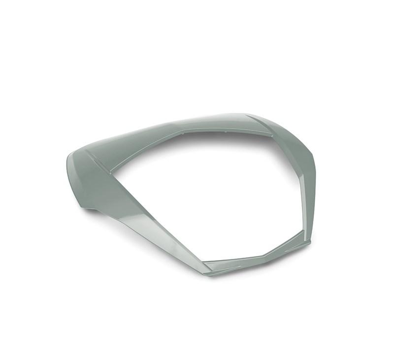 KQR™ 47 Liter Top Case, Trim, Metallic Matte Fusion Silver detail photo 1