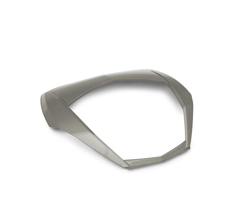 KQR™ 47 Liter Top Case, Trim, Metallic Raw Titanium detail photo 1