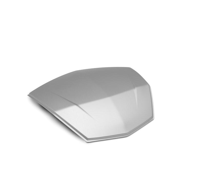KQR™ 47 Liter Top Case, Color Panel, Aluminum, Silver detail photo 1