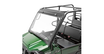 Flip-Up Windshield, Polycarbonate