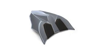 Seat Cowl, Metallic Graphite Gray/45W