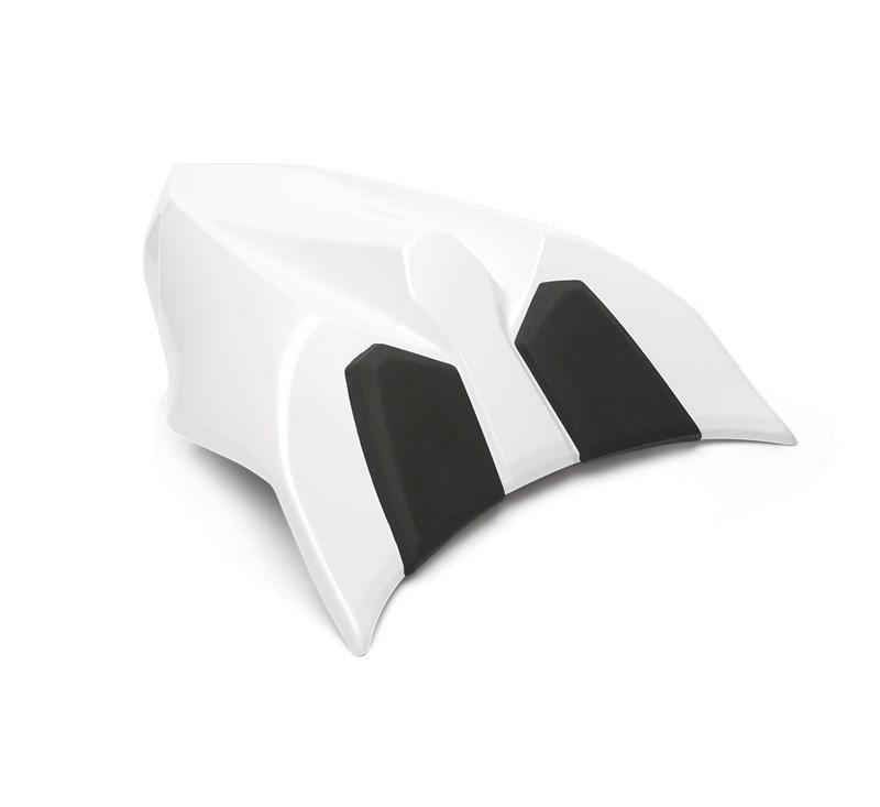 Seat Cowl, Pearl Blizzard White/54X detail photo 1