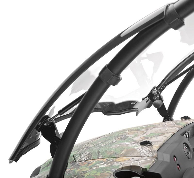 KQR™ Flip-Up Windshield detail photo 4