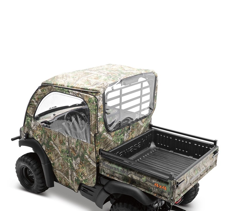 Soft Cab Enclosure, Roof and Back, Realtree® Xtra® Green detail photo 4
