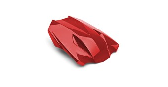 Seat Cowl, Candy Fire Red/816