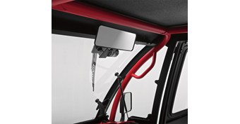 Rear View Mirror for Hard Cab Enclosure