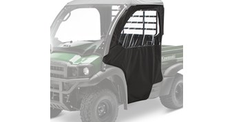 Soft Cab Enclosure, Soft Door Set, Black