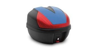 30 Liter Top Case, Color Panel, Candy Plasma Blue