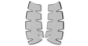 Knee Pad Set, Carbon Print