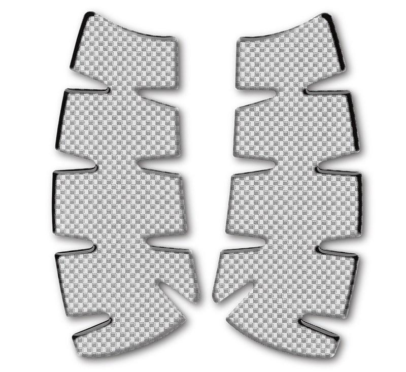 Knee Pad Set, Carbon Print detail photo 1