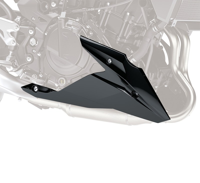 Lower Cowling, Metallic Spark Black/660 detail photo 1