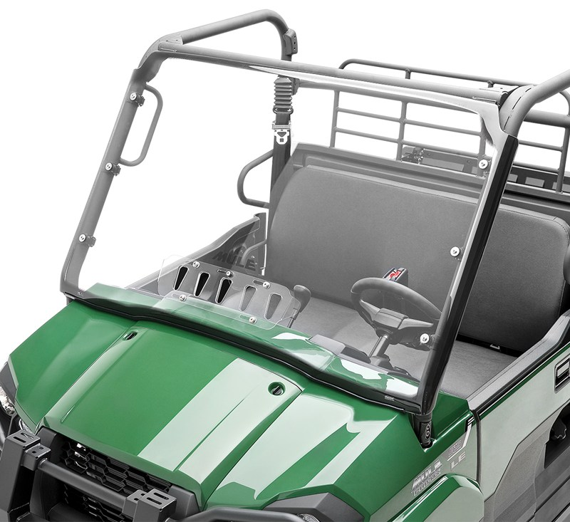 KQR™ Full Fixed Windshield, Polycarbonate detail photo 1