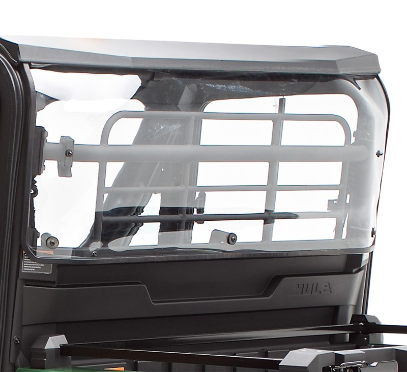 Cab Enclosure, KQR™  Rear Panel, Polycarbonate detail photo 1